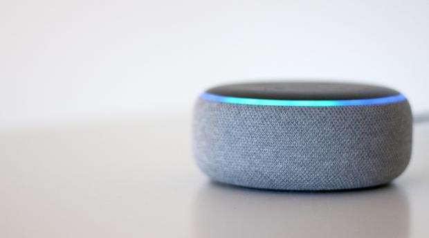 Salisbury Journal: The Echo Dot (third-generation) is one of the smallest Amazon Echo smart speakers. Credit: Reviewed / Betsey Goldwasser