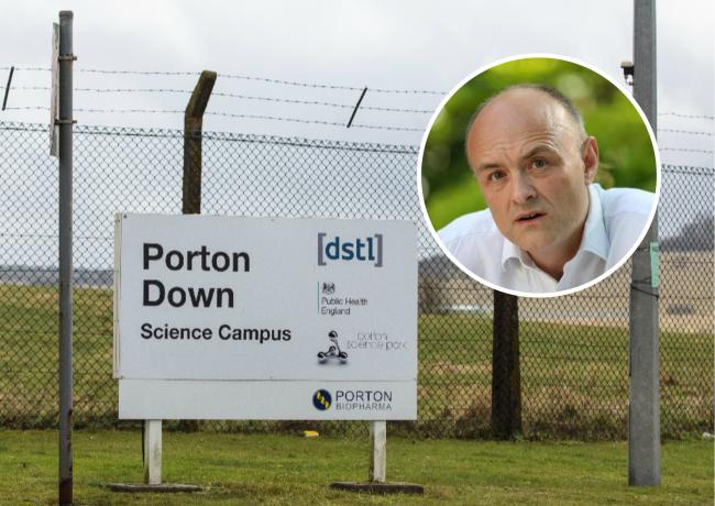 Dominic Cummings will tour some of Britain's most highly classified national security sites - including Porton Down