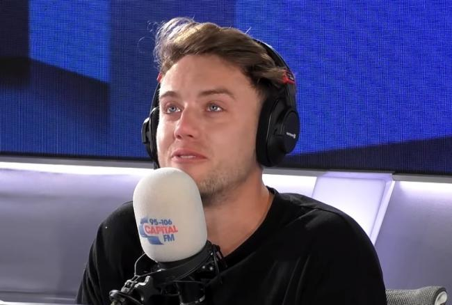 Capital FM: Roman Kemp breaks down as he pays tribute to friend and producer. Picture: Capital FM/YouTube
