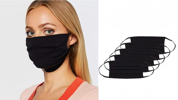 Salisbury Journal: These pleated masks make for a better fit. Credit: Amazon / Oscar Apparels