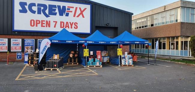 Screwfix opens new store in Salisbury on Churchfield Industrial Estate store at Glenmore Business Park