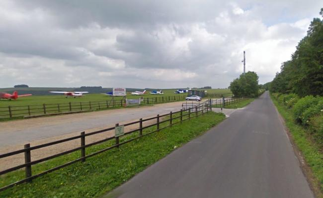 Compton Abbas Airfield - Picture from Google Street View