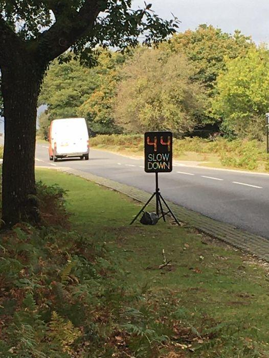 Police caught 27 people speeding in the New Forest on September 28 2020. Picture: New Forest Heart Cops