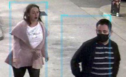 Police would like to speak to these two in connection with the incident