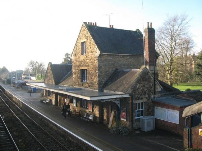 Sherborne railway station Picture: South Western Railway