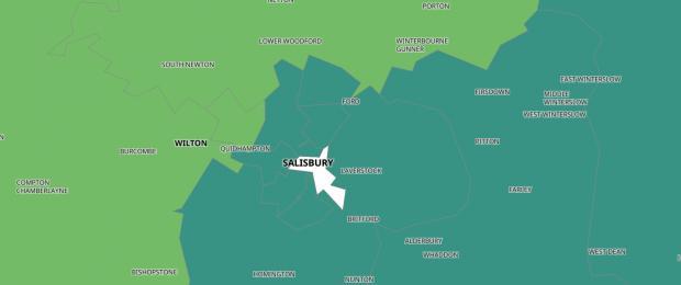 Salisbury Journal: Government's coronavirus hotspots map