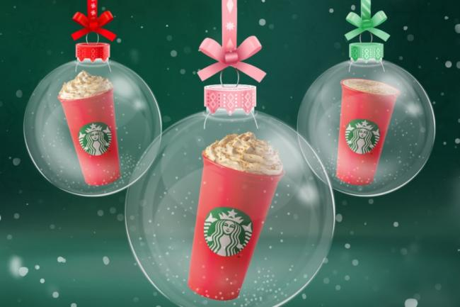 Starbucks reveal their Christmas menu (and several festive drinks are returning). Pictures: Starbucks UK