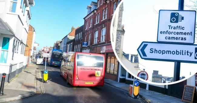 Salisbury's low traffic zone is to be halted after just over a month - but how did we get here? Credit: Spencer Mulholland