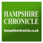 Green website logo for Hampshire Chronicle