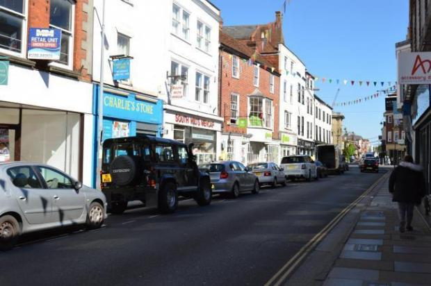 Salisbury Journal: Catherine Street, Salisbury