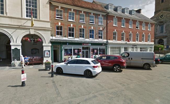 Market Place in Blandford. Picture: Google Maps/ Street View
