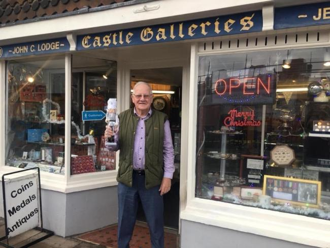 John Lodge of Castle Galleries is celebrating 50 years in business