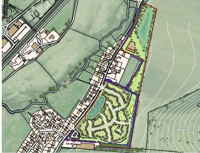 Illustrative Masterplan. Picture from Hallam Land Management