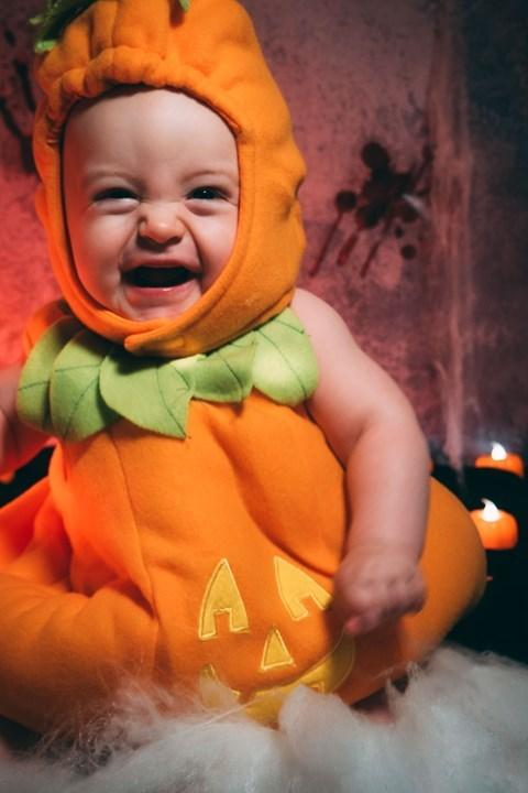 Salisbury Journal: Remy celebrating his first Halloween.
