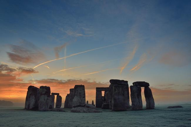 Stonehenge: The Lost Circle Revealed - Picture by Adam Stanford/ Aerial-Cam/ BBC. Copyright PA Media