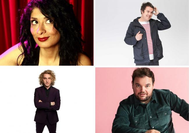 Shappi Khorsandi, Paul McCaffrey, Seann Walsh and Lloyd Griffith are in the line-up for Naomi House and Jacksplace virtual Comedy Night In