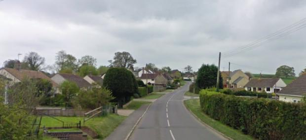 Salisbury Journal: Hazelbury Bryan is a 'quiet village' based in North Dorset. Please note: Properties in photo are not where the Covid-19 breach occurred. Picture: Google
