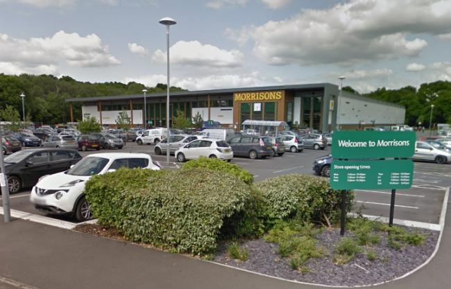 Morrisons in Verwood  Picture: Google Street View