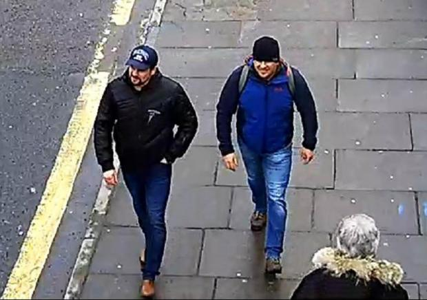 Salisbury Journal: Suspects Alexander Petrov and Ruslan Boshirov. Picture by Metropolitan Police via Getty Images