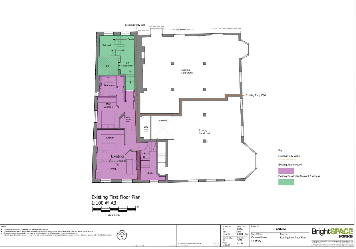 Existing First Floor Plan A