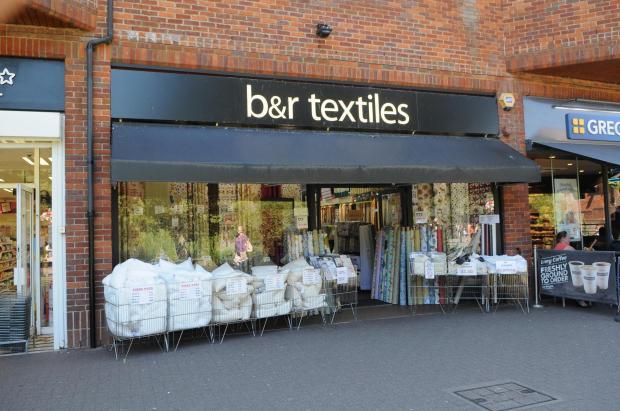 Salisbury Journal: b&r Textiles, The Maltings