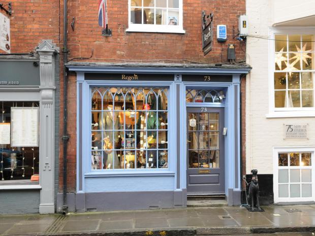 Salisbury Journal: Regent Tailoring, New Street