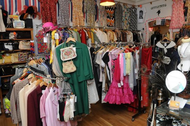 Salisbury Journal: Foxtrot Vintage Clothing, Fisherton Street