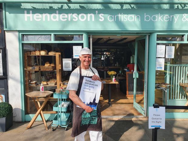 Salisbury Journal: Paul Henderson of Henderson's Artisan Bakery and Cafe