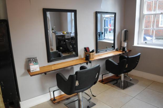 Salisbury Journal: Inside Sienna Taye Hairdressing