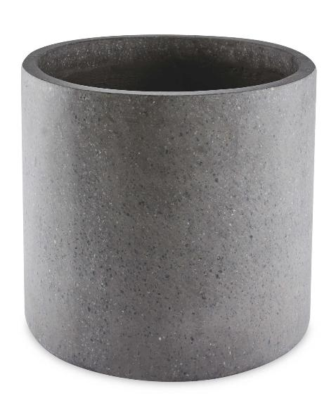 Salisbury Journal: Grey Round Terrazzo Plant Pot. (Aldi)