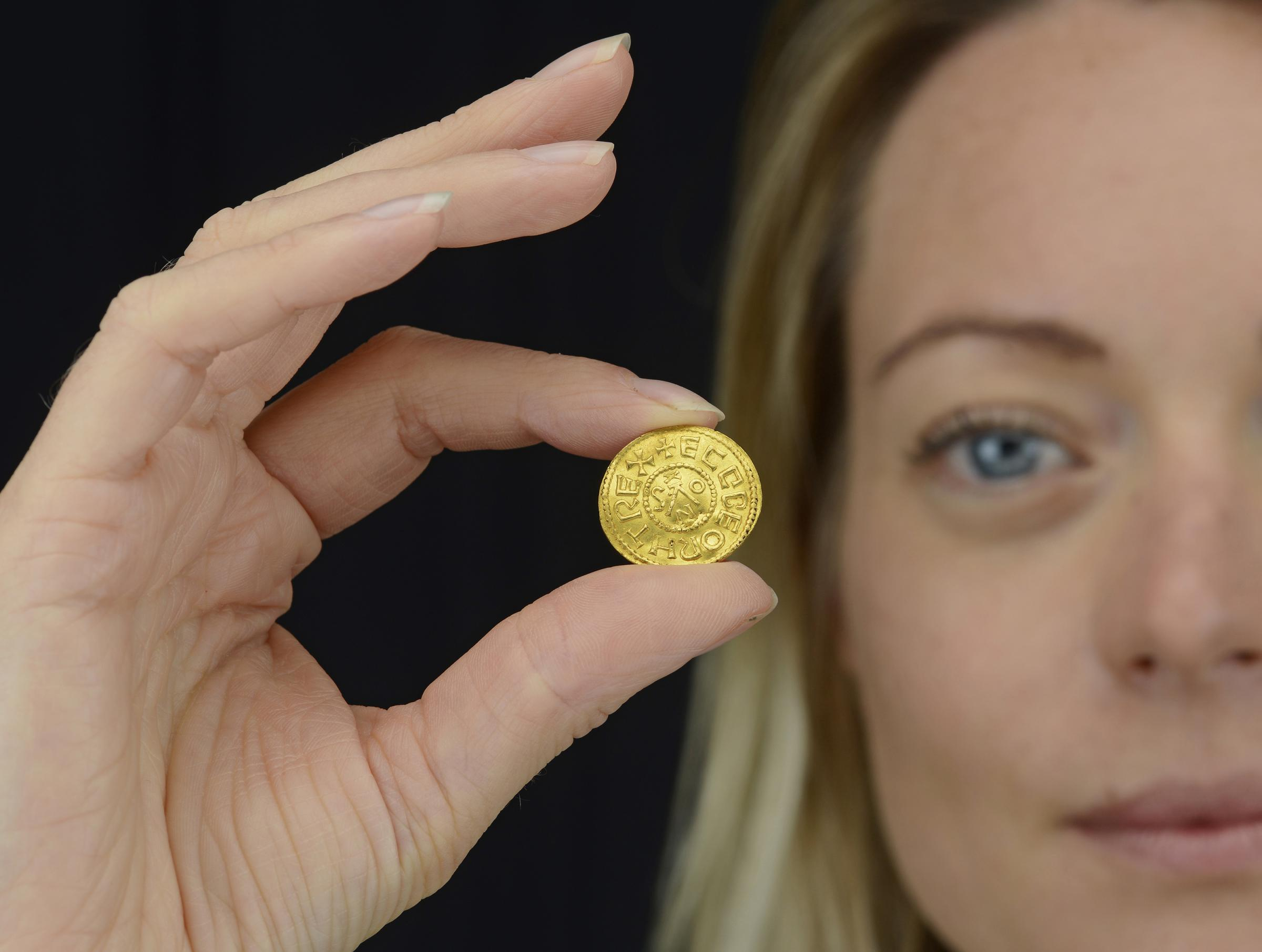 Gold coin discovered in West Dean expected to fetch up to £200k at auction
