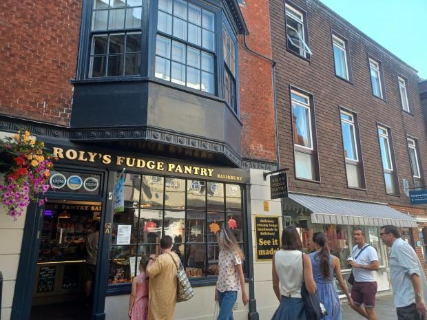 Salisbury Journal: Roly's Fudge Pantry
