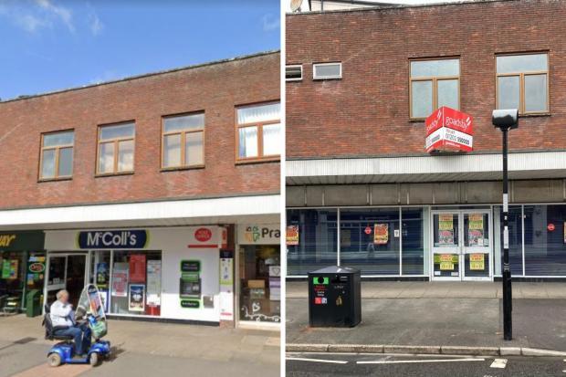 Tạp chí Salisbury: Chi nhánh Bưu điện Ringwood ở Đường Southampton trước và sau khi đóng cửa.