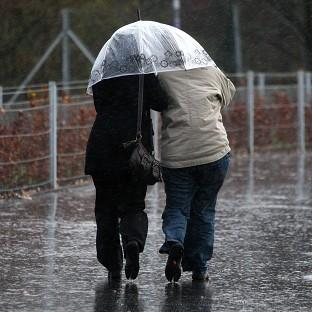 Showers are set to hit Britain on St Swithin's Day, which is said to mean 40 days of rain ahead