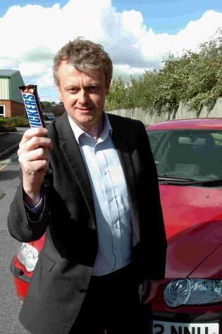 Stuart Wickham has problems with his car, public telephones and chocolate bars. DC0154P1