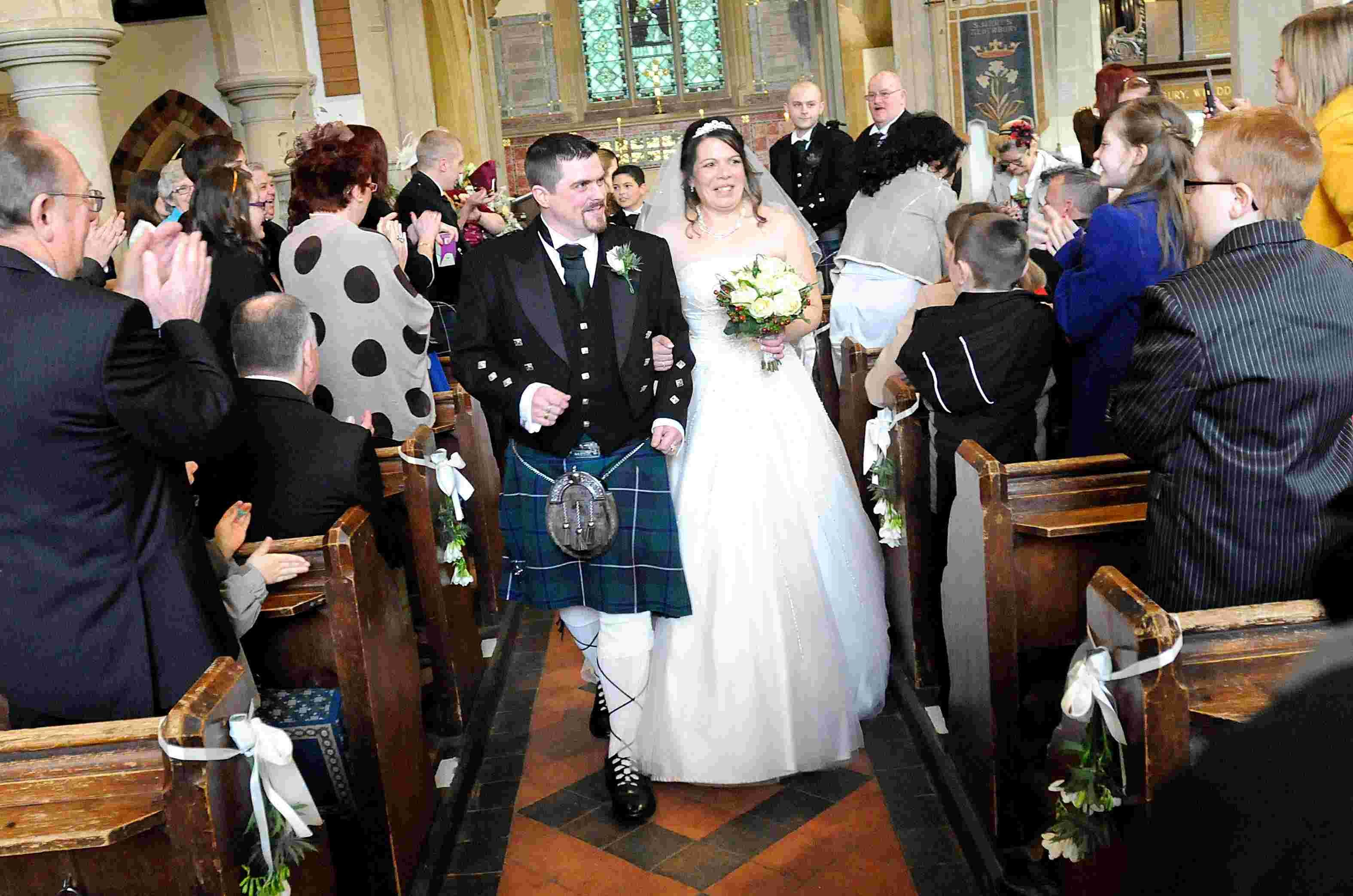 Competition Winners have Valentine's Day Wedding