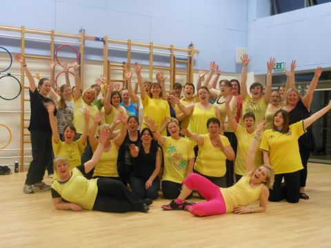 Daffodil Zumba for Marie Curie