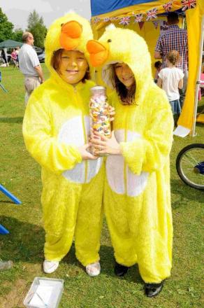 More than 2,000 people join the fun in Durrington