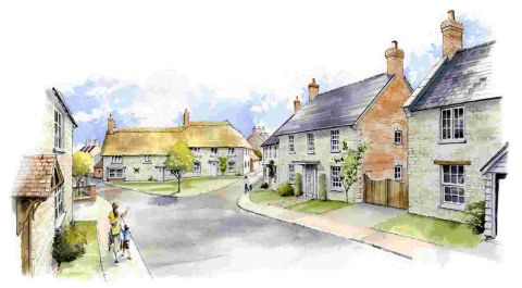 Work starts on Tisbury development