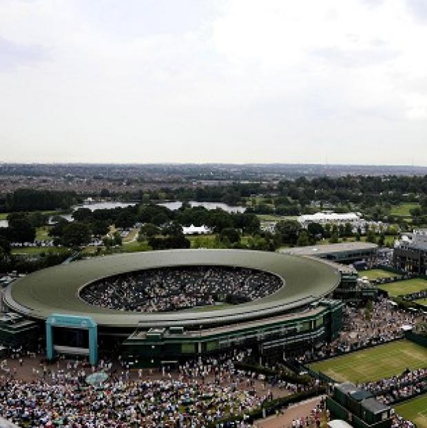 The Wimbledon tournament at the All England Club in London is due to start next Monday