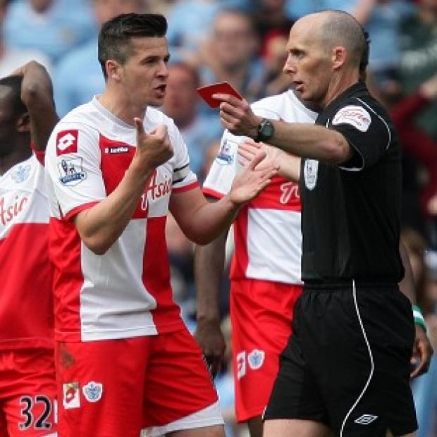 Salisbury Journal: QPR have stripped Joey Barton (left) of the captaincy and fined him for his misconduct against Manchester City