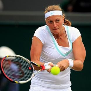 Petra Kvitova has sailed past American Varvara Lepchenko, dropping just one game