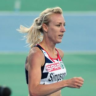 Jemma Simpson was left out of Great Britain's Olympics squad despite possessing the 'A' standard