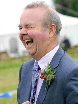 Ian Hislop at the Chalke Valley History Festival.