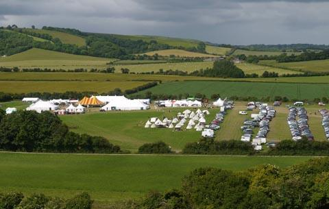 The Chalke Valley History Festival.