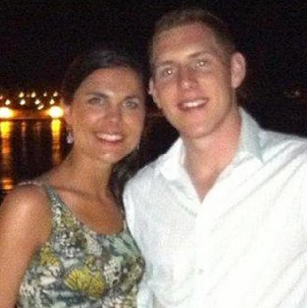 John and Michaela McAreavey during their honeymoon in Mauritius