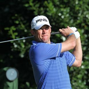 Lee Westwood was among the early starters for the third round of the Open