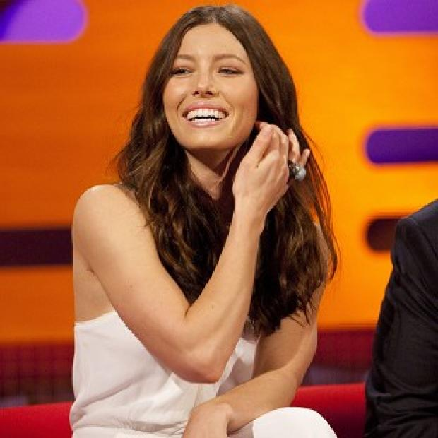 Jessica Biel says she's always been a fan of the Ninja Turtles