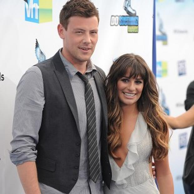 Glee sweethearts Lea Michele and Cory Monteith attended the Do Something Awards together