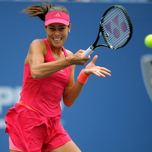 Ana Ivanovic is finding some form at the US Open